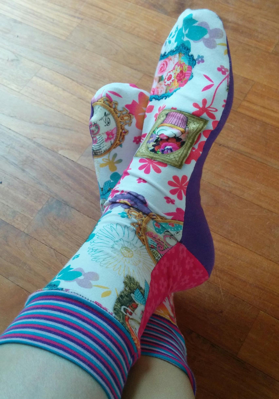 Socken nähen? Socken nähen! | Charla