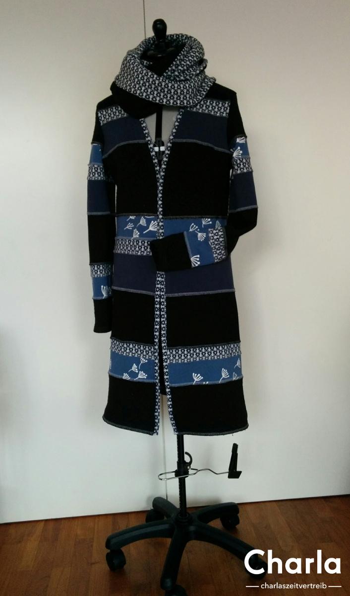weihnachtsgeschenk f r eine freundin ein zsazsa mantel. Black Bedroom Furniture Sets. Home Design Ideas