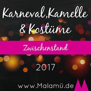 Karnevals Sew Along 2017 - Zwischenstand